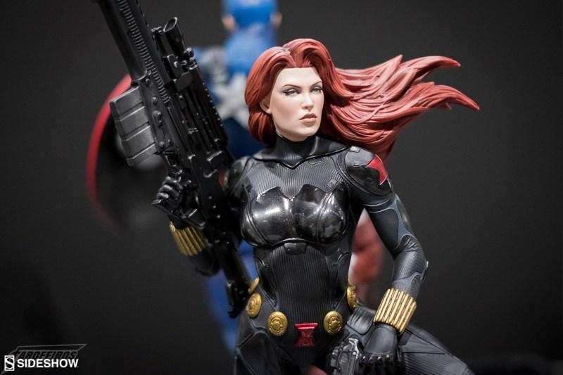 O melhor de colecionáveis na SDCC 2018 - Sideshow - Viúva Negra - Black Widow