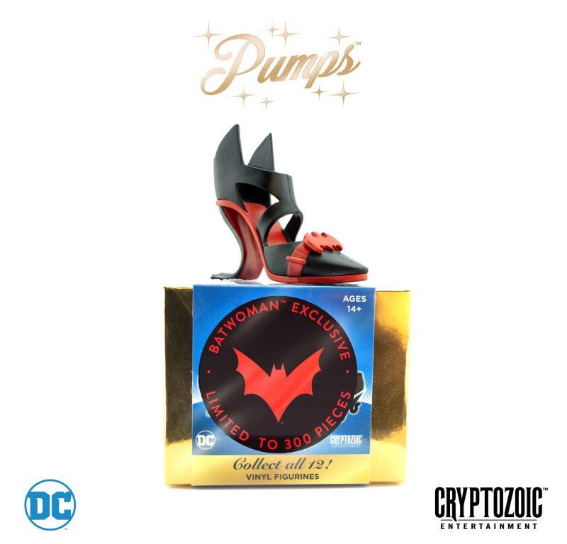 Sapato BatWoman - Cryptzoic - Os melhores colecionáveis exclusivos da SDCC 2018