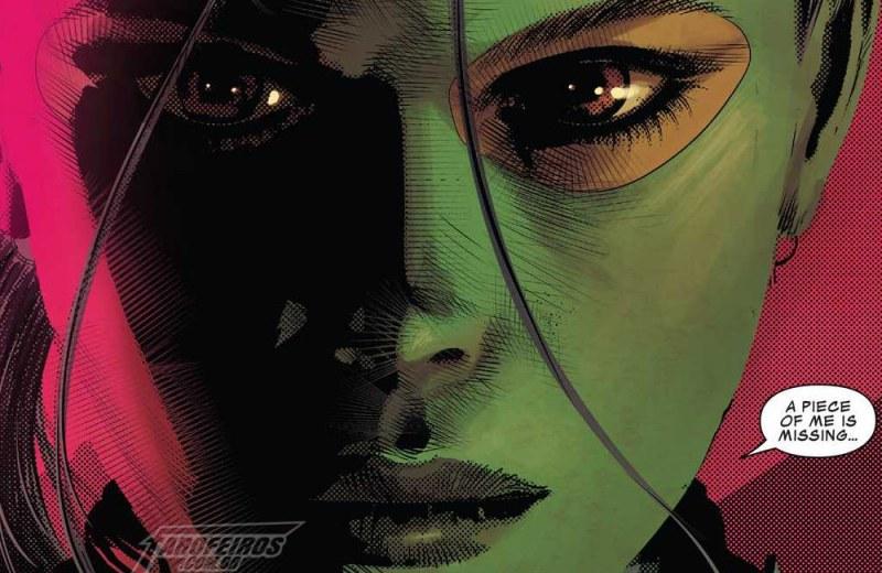A identidade de Réquiem de Infinity Wars - Guerras Infinitas - Marvel - Gamora