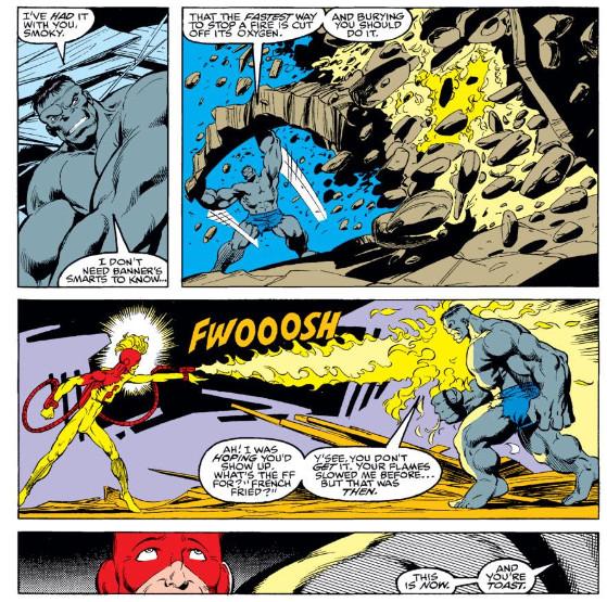 Hulk Filé com Fritas - Interior Incredible Hulk Vol 1 #369 - Marvel Comics - FAROFEIROS COM BR