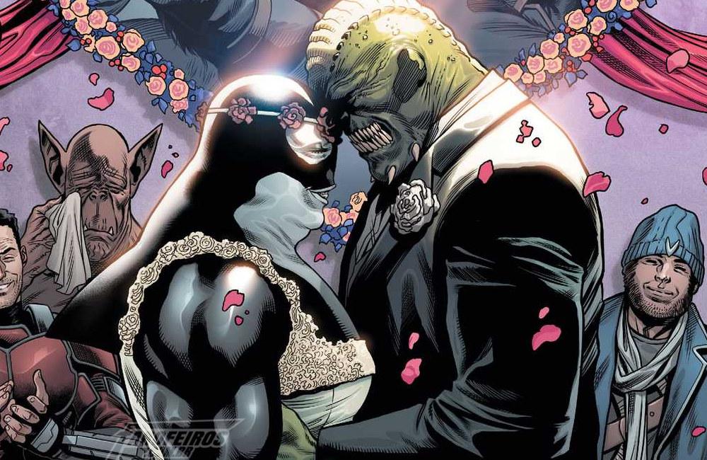 O casamento de Croc e Orca - Injustice 2 #69 - DC Comics
