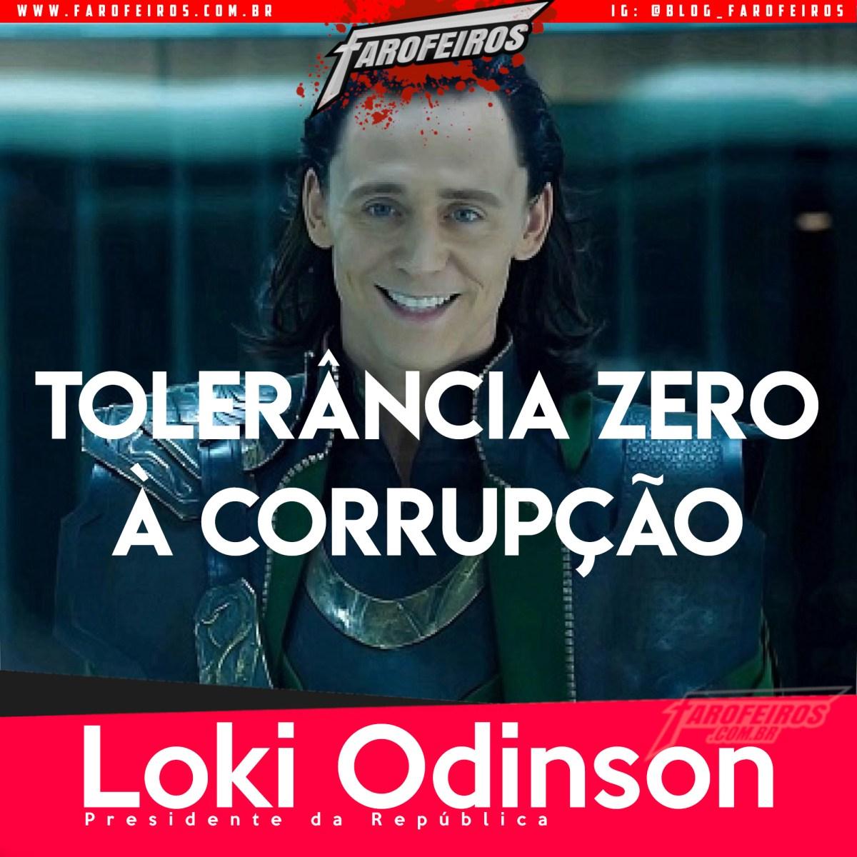 Super Eleições 2018 - Farofeiros com br - Loki - 1