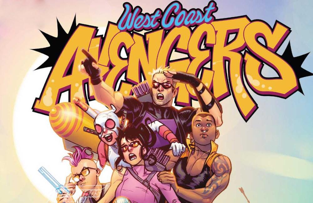 West Coast Avengers - Vingadores da Costa Oeste - FAROFEIROS COM BR