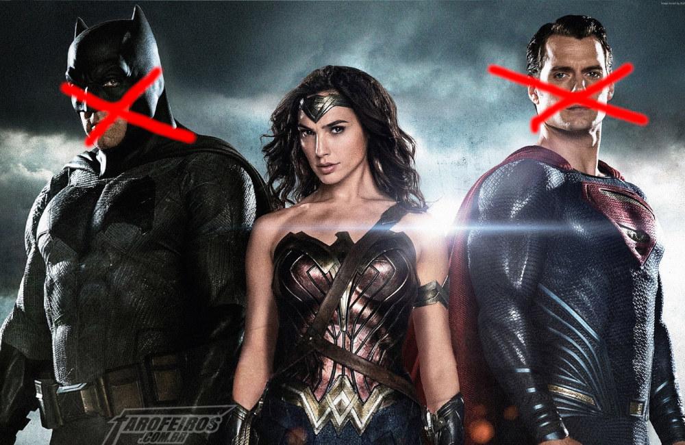 Reboot para os filmes da DC Comics - Liga da Justiça - Ben Affleck - Gal Gadot - Henry Cavill - Blog Farofeiros
