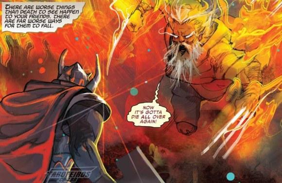 Surge um dos seres mais poderosos do Universo Marvel - Thor #5 - Wolverine Fênix - Blog Farofeiros