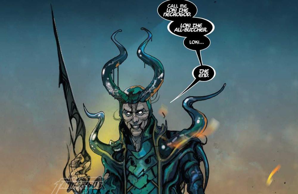 O início do fim em Thor #6 - Loki - Necrogod - All-Butcher - Blog Farofeiros - 04