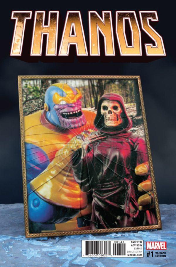 Thanos #1 - Marvel Comics - Blog Farofeiros