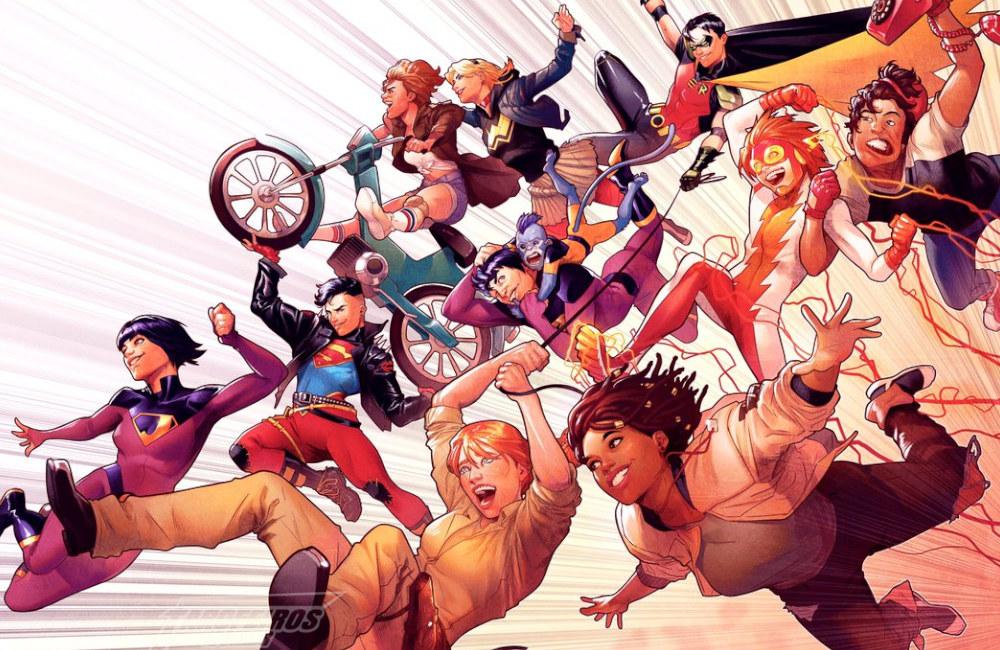 Wonder Comics - Selo da DC Comics terá curadoria de Bendis - Blog Farofeiros - 00