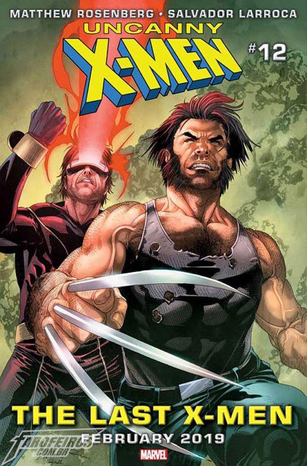 O que está por vir na Marvel em 2019 - Uncanny X-Men #12 - Wolverine - Ciclope - Blog Farofeiros