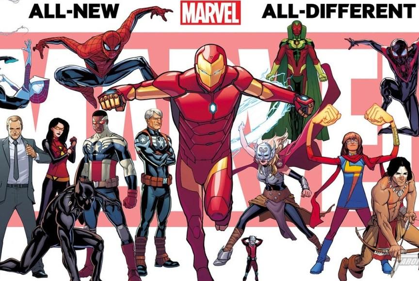 Os novos títulos da Marvel após Guerras Secretas - Blog Farofeiros