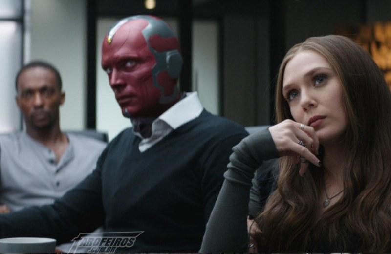 Séries dos Vingadores estariam em produção pela Marvel - Visão - Feiticeira Escarlate - Falcão - Blog Farofeiros