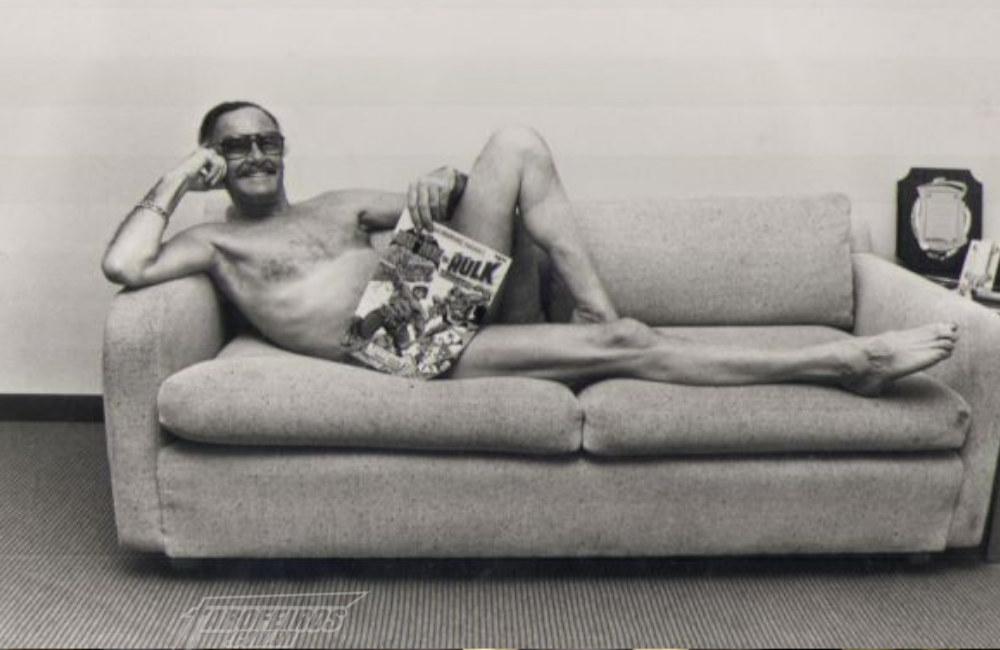 Stan Lee pelado - Blog Farofeiros