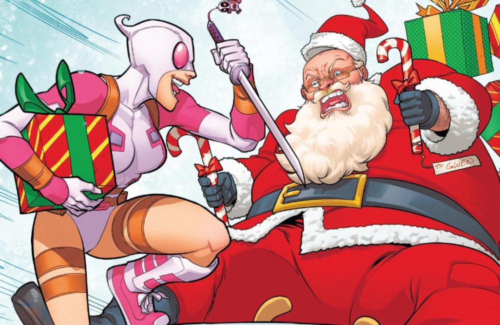 Como sobreviver ao Natal - Gwenpool - Papai Noel - Blog Farofeiros
