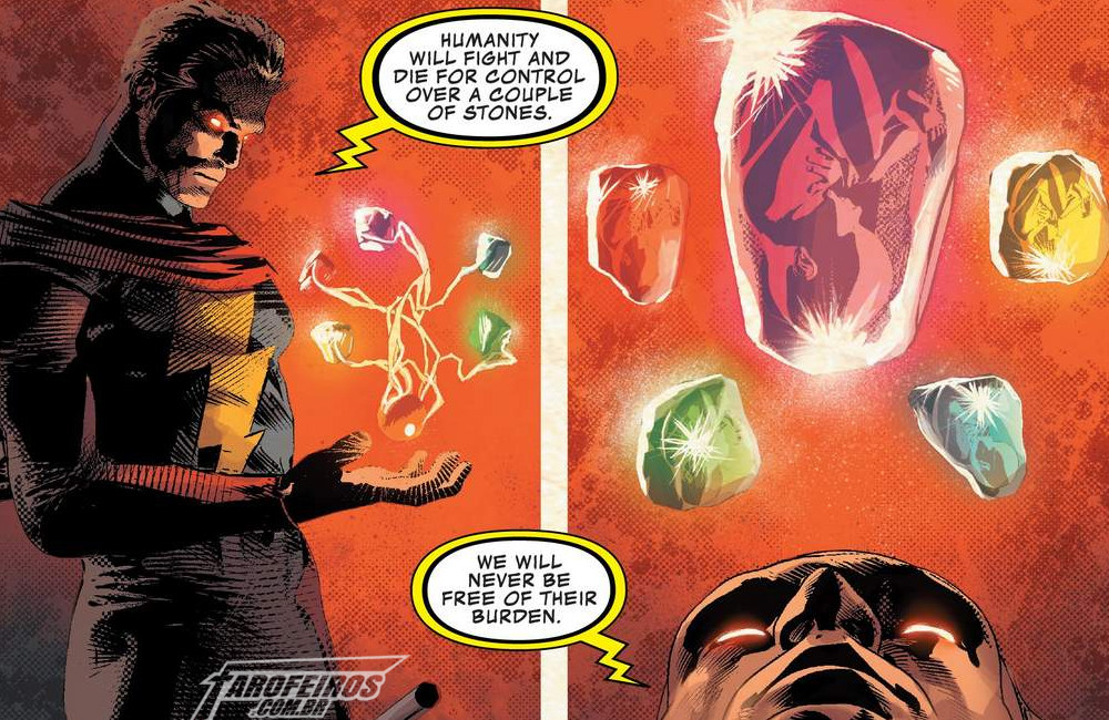 O final de Infinity Wars - Warlock - Blog Farofeiros