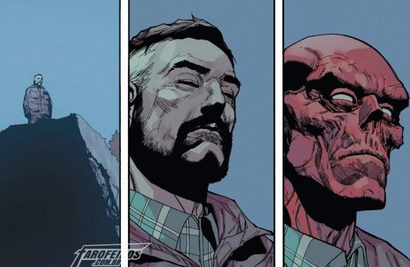 Outra Semana nos Quadrinhos #2 - Captain America #6 - Caveira Vermelha - Blog Farofeiros
