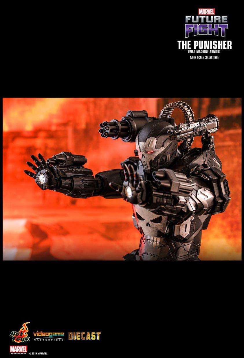 Justiceiro Máquina de Combate da Hot Toys - Blog Farofeiros