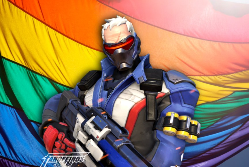 Soldado 76 é gay - Soldier 76 - Overwatch - Blog Farofeiros