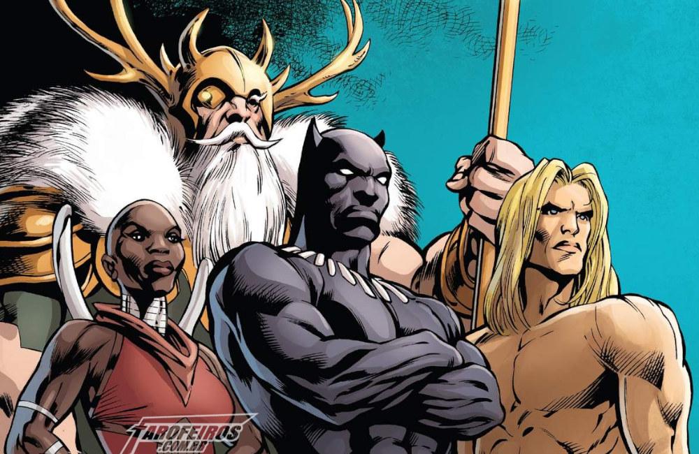 Vingadores - Agentes de Wakanda - Blog Farofeiros