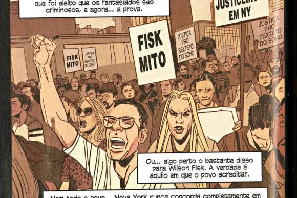 Wilson Fisk Mito - Demolidor #17 - Panini Comics- Blog Farofeiros