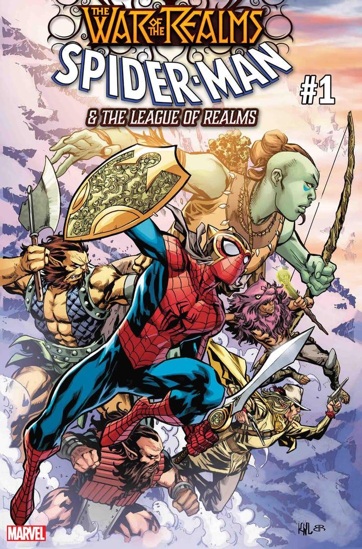Guerra dos Reinos - War of the Realms - Spider-Man & The Leagueof Realms - Homem Aranha - Blog Farofeiros