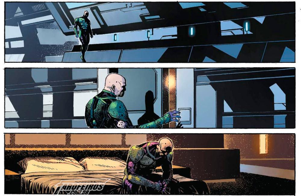Outra Semana nos Quadrinhos #5 - Justice League #17 - Lex Luthor - Blog Farofeiros