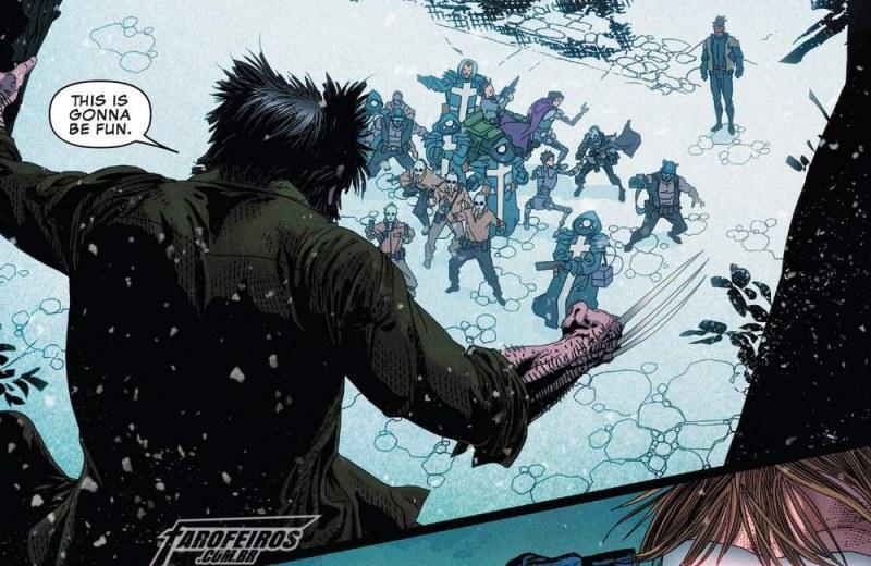 Outra Semana nos Quadrinhos #5 - Uncanny X-Men #1 - Wolverine - Blog Farofeiros