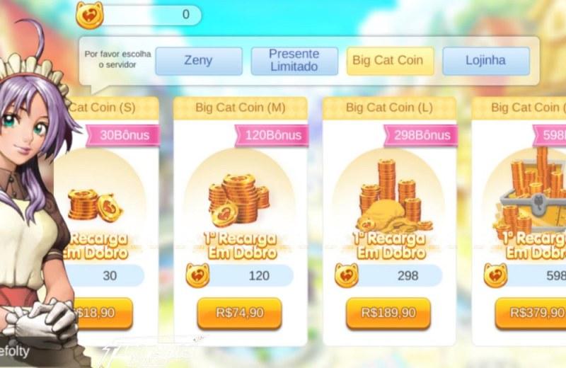 Os assustadores leilões de Ragnarok Mobile - Preços dem Reais de Big Cat Coins - Blog Farofeiros