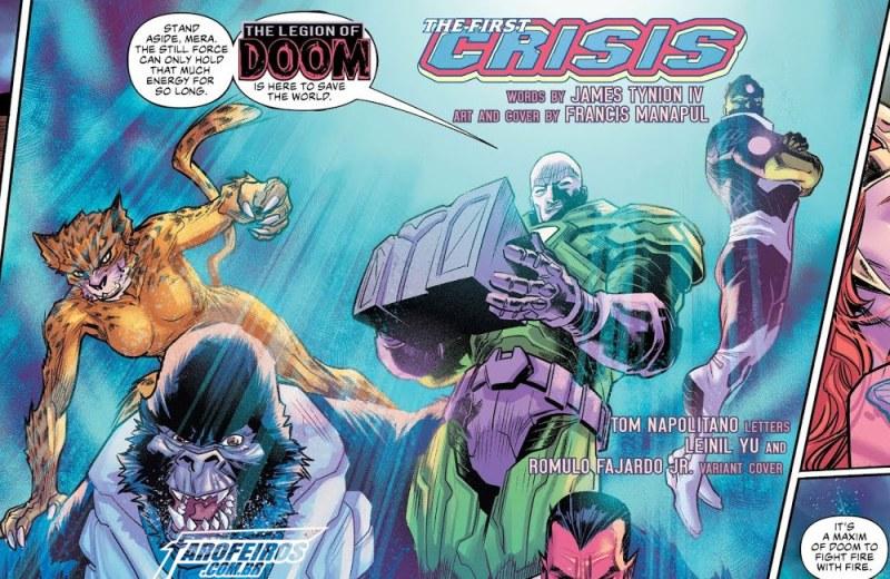 Outra Semana nos Quadrinhos #13 - Justice League #22 - Liga da Justiça - Blog Farofeiros