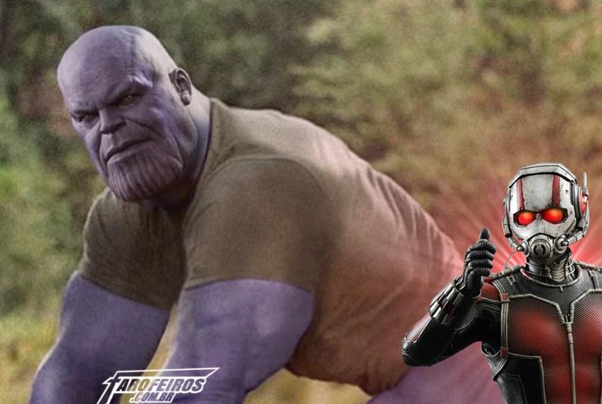 Thanos - Homem Formiga - Teoria - Blog Farofeiros
