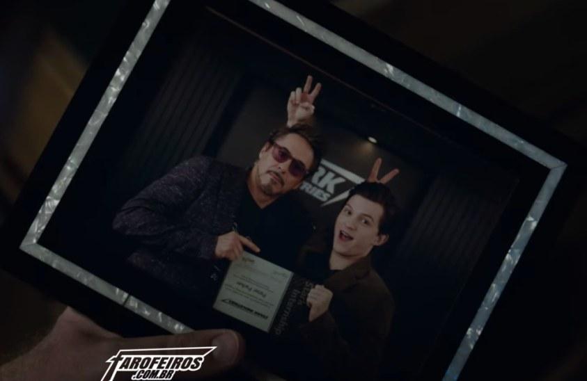 Vingadores - Ultimato - Tony Stark - Peter Parker - Blog Farofeiros
