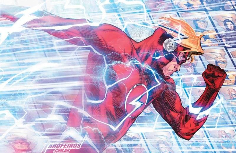 A tragédia de Wally West em Heróis em Crise - Heroes in Crisis - Flash - Kid Flash - 03 - Blog Farofeiros