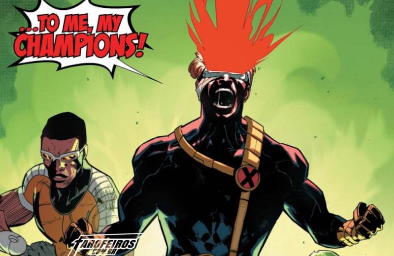 Outra Semana nos Quadrinhos #15 - Champions #5 - Ciclope - Blog Farofeiros