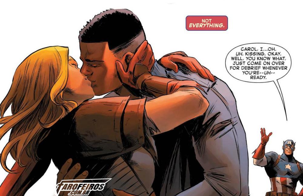 Outra Semana nos Quadrinhos #16 - Captain Marvel #5 - Capitã Marvel - Blog Farofeiros