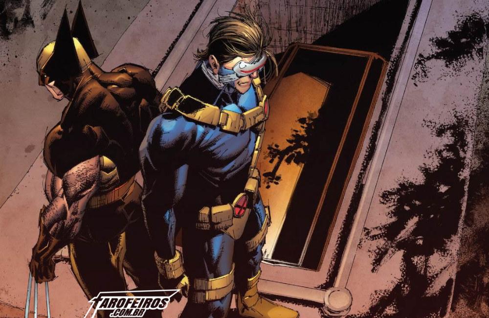 Muitas mortes em Uncanny X-Men - Ciclope - Wolverine - Blog Farofeiros