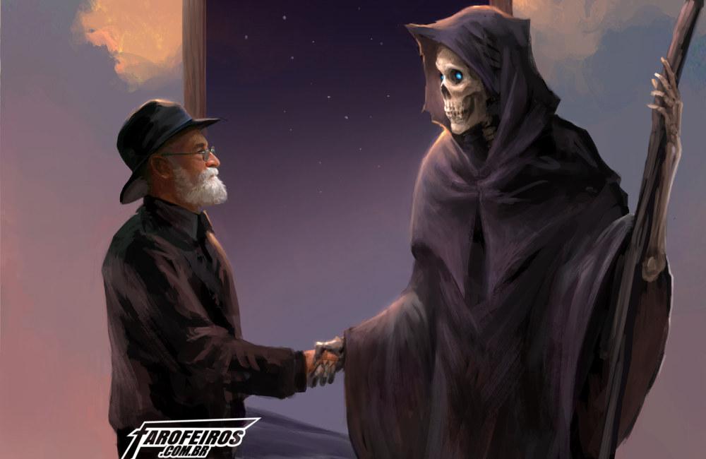 Terry Pratchett - Morte - por sandara- Blog Farofeiros