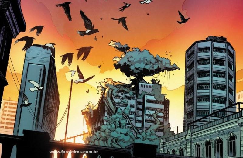 Detalhes de House of X - Habitat Krakoa Jerusalem - Marvel Comics - Blog Farofeiros