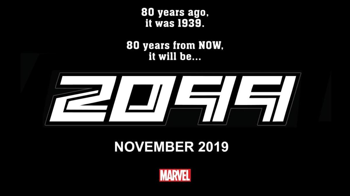 Marvel Comics na SDCC 2019 - 2099 - Blog Farofeiros