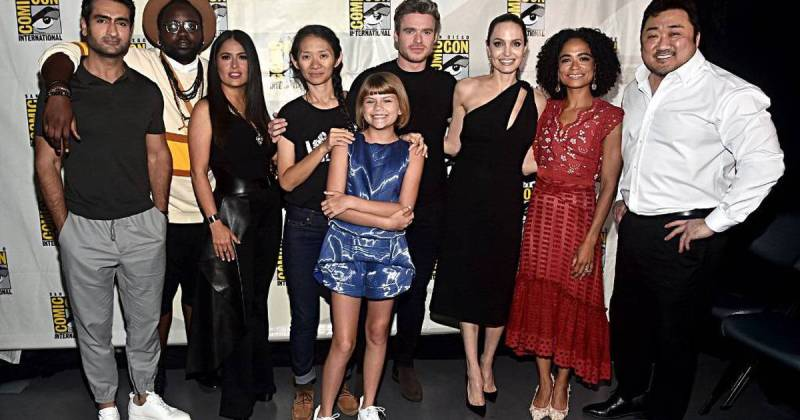 Marvel Studios na SDCC 2019 - Elenco de Eternos - Eternals - Blog Farofeiros