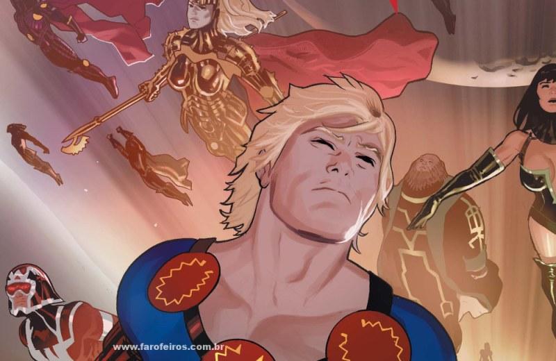 Marvel Studios na SDCC 2019 - Eternos - Eternals - Blog Farofeiros