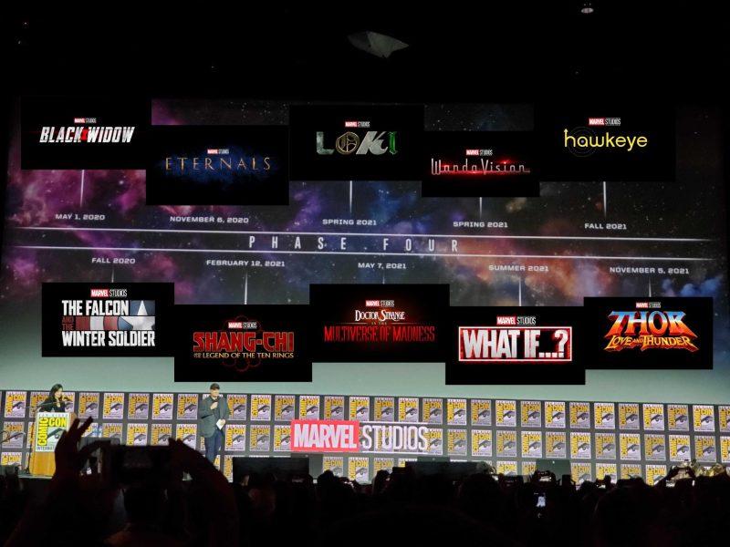 Marvel Studios na SDCC 2019 - Linha do tempo Fase 4 - Blog Farofeiros