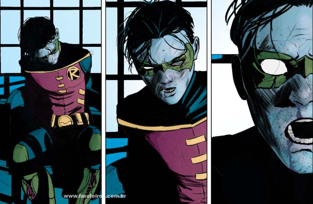 Bane mata Alfred em Batman #77 - Damian - Robin - Blog Farofeiros