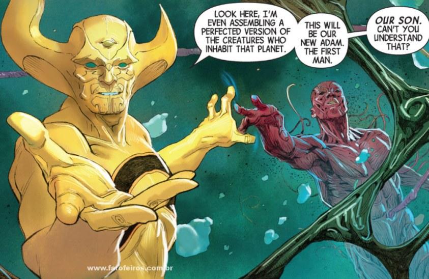 Detalhes de Powers of X - Poderes dos X - Avengers Vol 5 #1 - Ex Nihilo criando vida em Marte - Blog Farofeiros