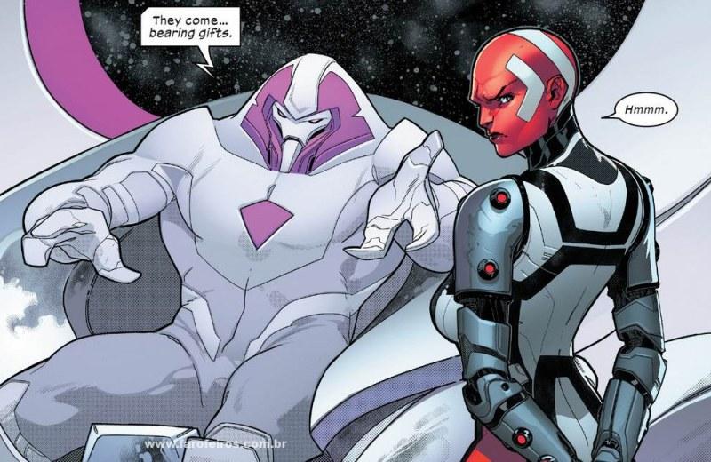 Detalhes de Powers of X - Poderes dos X - Powers of X #1 - Nimrod - Karima - Blog Farofeiros