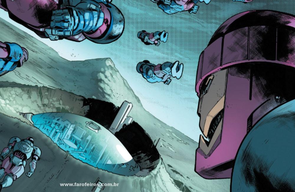 Moira MacTaggert e os X-Men - Sentinelas - House of X - Marvel Comics - Blog Farofeiros