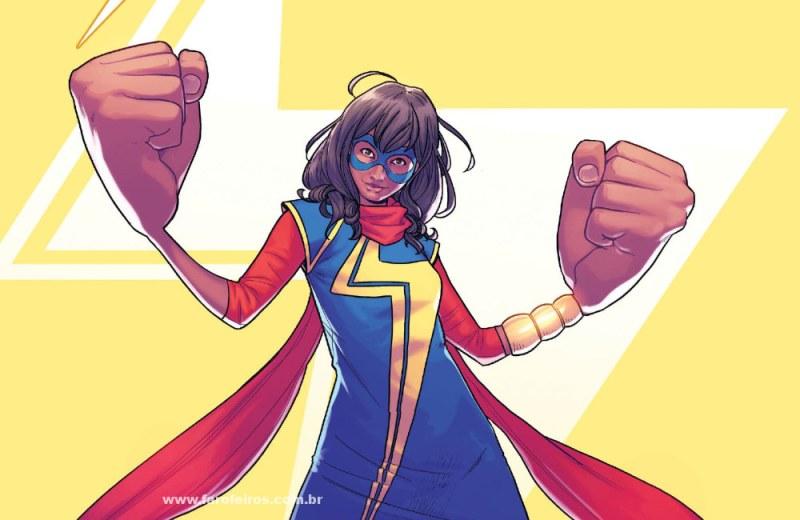 Novidades das séries da Marvel Studios na D23 Expo 2019 - Ms MArvel - Kamala Khan - Quadrinhos - Blog Farofeiros