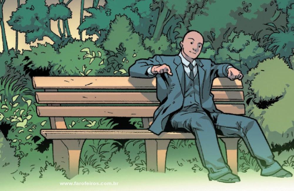 Professor Charles Xavier - X-Men - Hoje é aquele dia - Pensamento - 03 - Blog Farofeiros