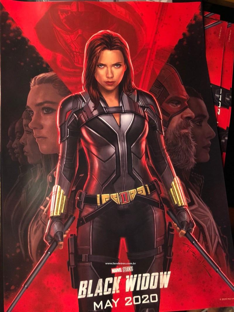 Viúva Negra - Poster oficial - Novidades dos filmes da Marvel Studios na D23 Expo 2019 - Blog Farofeiros