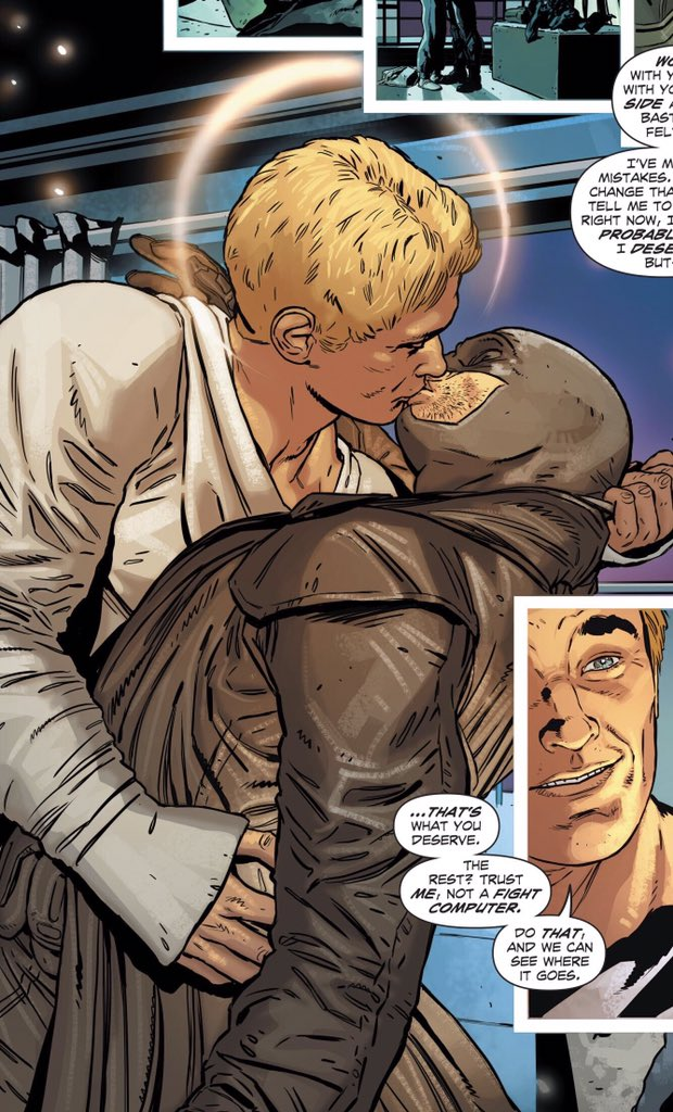 Apolo e Midnighter 2 - DC Comics - Beijo gay nas histórias em quadrinhos - Blog Farofeiros