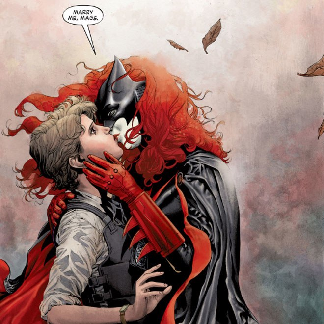 Batwoman 2 - DC Comics - Beijo gay nas histórias em quadrinhos - Blog Farofeiros