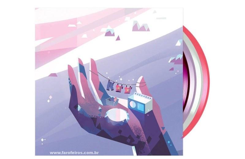 Disco de Steven Universo - Blog Farofeiros